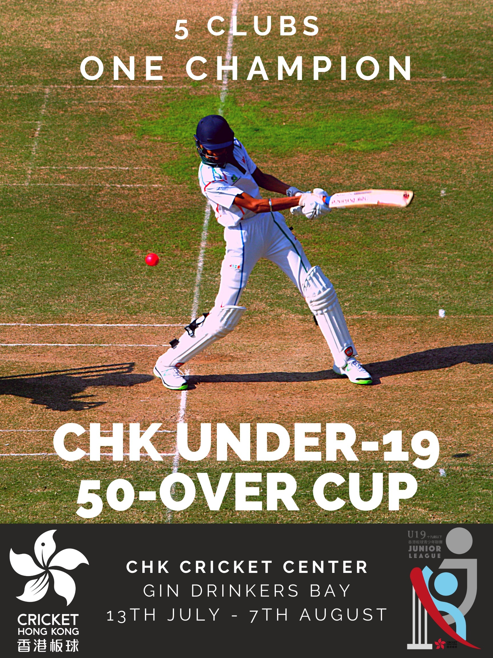 CHK U19 50-Over Cup Poster